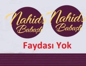 دانلود آهنگ ترکی ناهیده باباشلی به نام فایداسی یوخ
